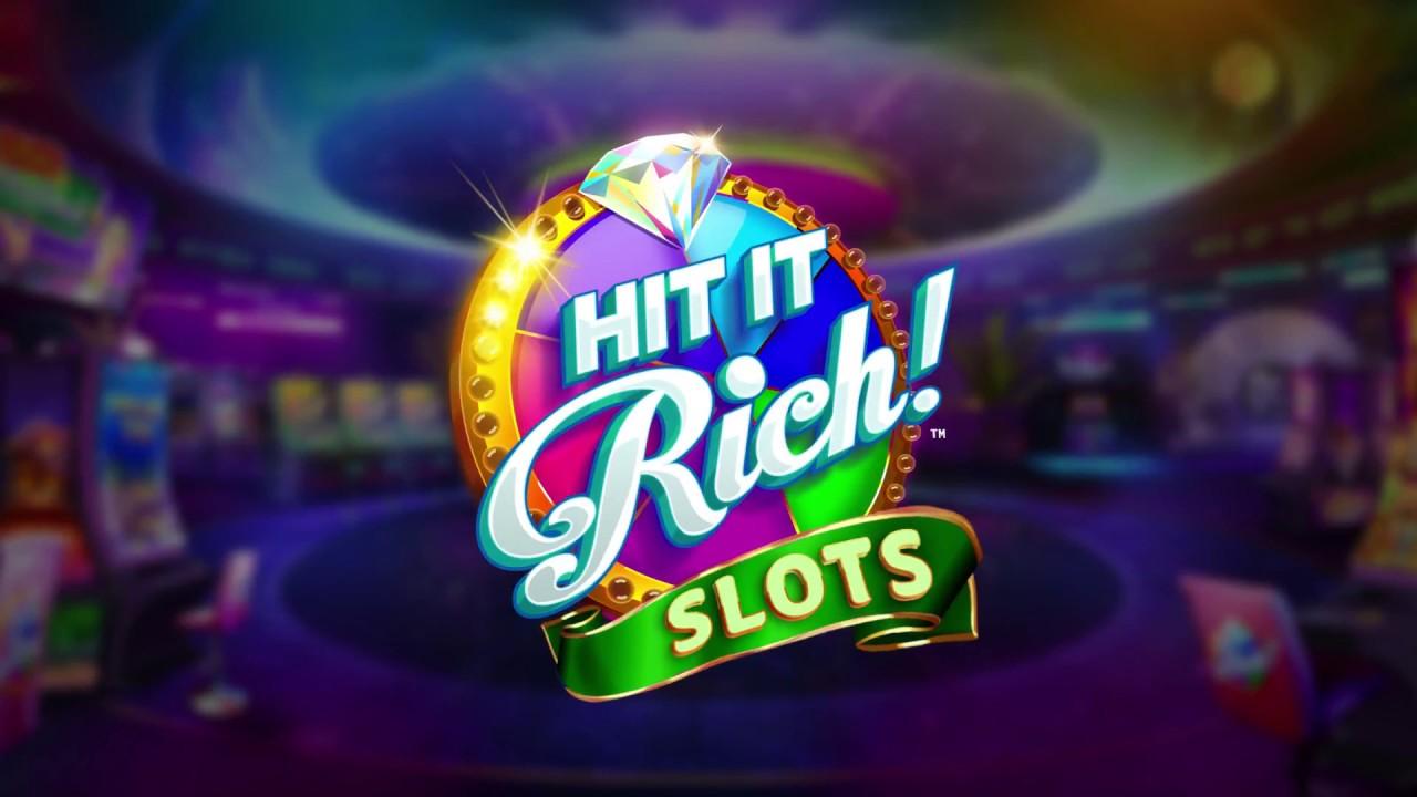 Hit it Rich! Game Slot Machine Gratis