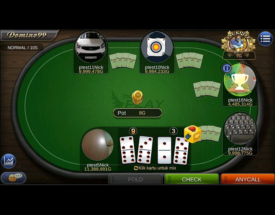 DominoQQ Game Untuk Android Terbaru di Play Store